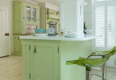 Kitchen Island With Stools White