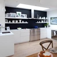 White kitchen with glamorous lighting | White kitchen ...
