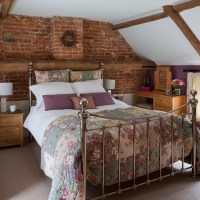 Rustic brickwork bedroom | housetohome.co.uk