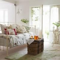 Classic white living room