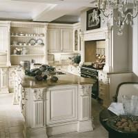 Elegant cream kitchen   Traditional kitchen design ideas ...