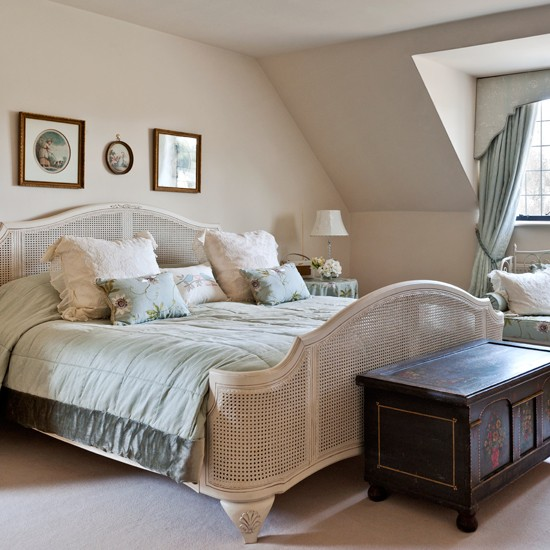 french country home bedroom Cream French country bedroom | housetohome.co.uk
