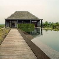 Modern garden with pavilion | housetohome.co.uk