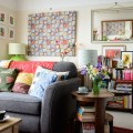 Cosy eclectic living room living room decorating idea housetohome