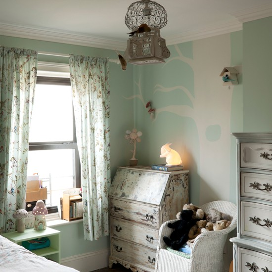 Child's French inspired bedroom