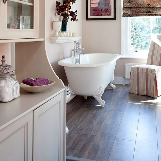 Laminate flooring  Bathroom flooring  housetohomecouk