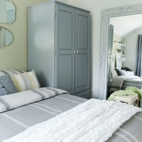Grey and olive green bedroom   Bedroom decorating ideas ...