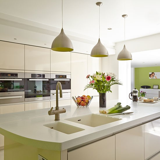 White Kitchen Pendant Lights