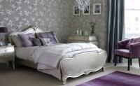 Purple and silver bedroom | Purple bedroom ideas ...