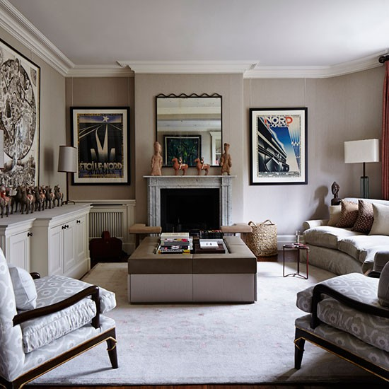 Taupe Living Room Ideas