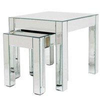 Mirrored nest of tables from Debenhams   Nests of tables ...