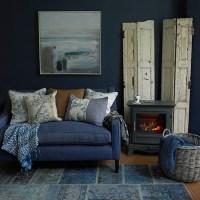 Blue Denim Living Room Furniture