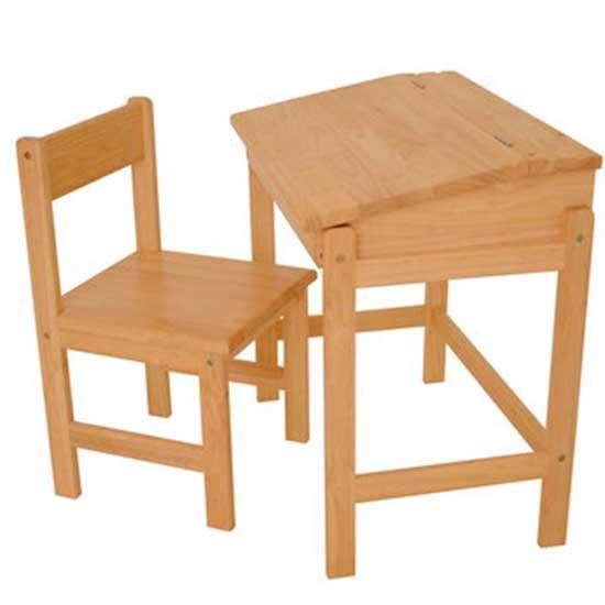 Rubberwood childs desk  Childrens desks  housetohomecouk