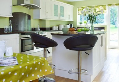 Green Painted Kitchen Decorating Ideas Housetohome