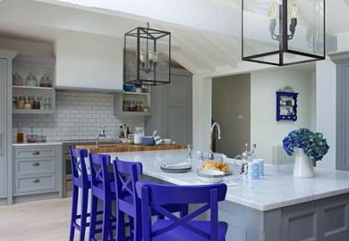 Painted Kitchens Housetohome