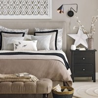 Hotel-style neutral bedroom | Neutral bedroom design ideas ...