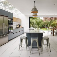 Grey and white kitchen | Kitchen ideas | housetohome.co.uk