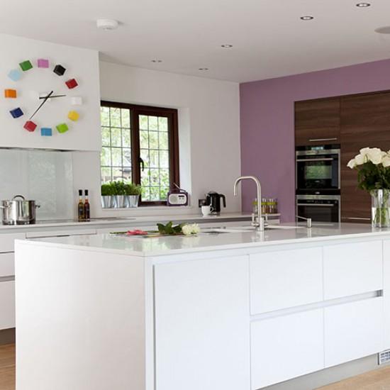 Modern Kitchen Feature Wall