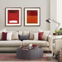 Smart living room with warm accents | Simple living room ...