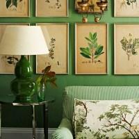 Botanical-inspired room schemes | Design ideas ...