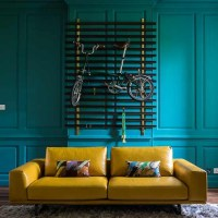 Teal and mustard living room | Decorating with Teal and ...
