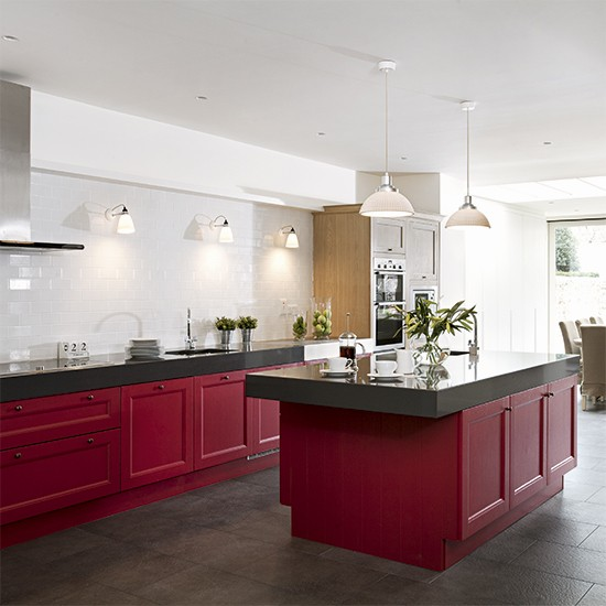 colour schemes for living rooms green room decor with black leather sofa red kitchen ideas - home trends   housetohome.co.uk