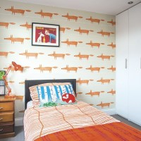 Boy's bedroom with feature wall | Boys bedroom ideas and ...