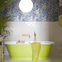 Tropical wallpaper | Bathroom wallpapers | housetohome.co.uk