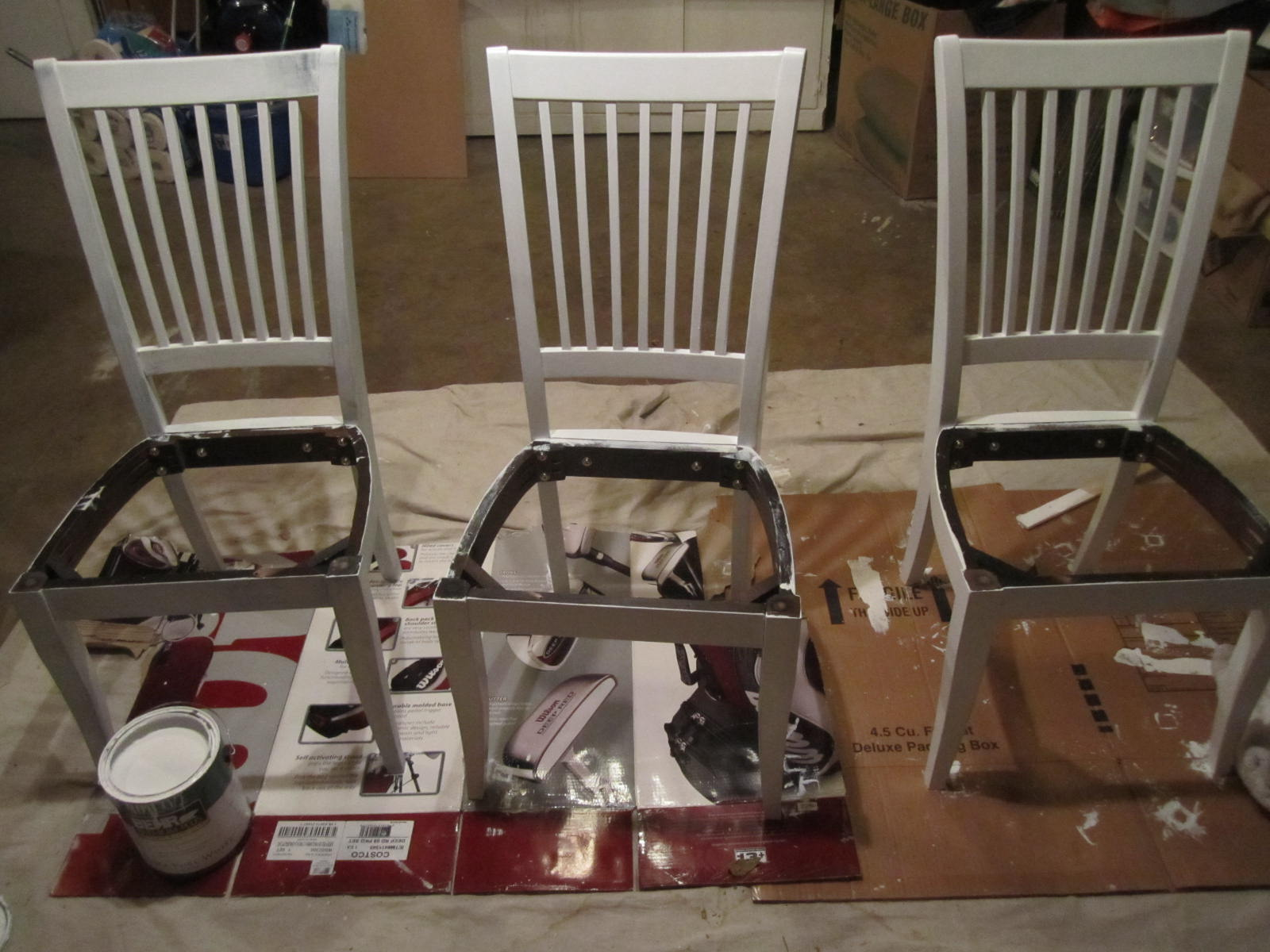 how to make chair covers at home folding on wheels build diy dining seat pdf plans