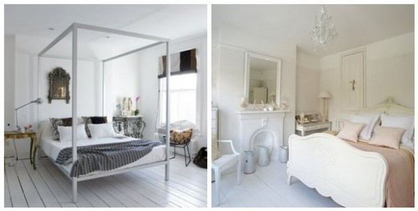 white floors in bedroom How To Paint Your Floors White.. Holy Amazing. | House To Home Blog