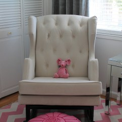 Rocking Chair Crib How To Recover Leather Dining Chairs Nursery Works House Home Blog