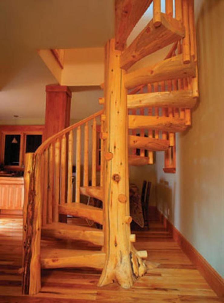 How To Build A Spiral Staircase Independently | Building A Spiral Staircase | Spiral Stairs | Handrail | Old Fashioned | Wood | Double Spiral