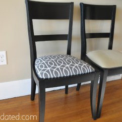 Reupholster Dining Chairs Discount Accent Under 100 Recovering Dwell Studio Bella Porte Charcoal Fabric Recover Chair 6