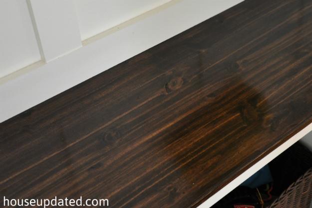 Kona Wood Stain On Pine