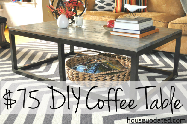 How to Build a DIY Industrial Coffee Table for Only 7524