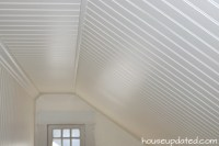 Beadboard Ceilings and Walls