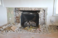 Removing Stone Fireplaces Images - Reverse Search