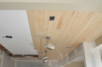 DIY: How to Install a Wood Planked Ceiling - House Updated