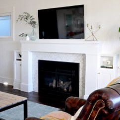 Fireplace For Living Room Pics Of Rooms Decorated Christmas Archives House Updated White Leather Chairs