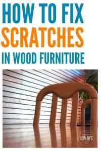How To Fix Scratches On Wood Furniture: 3 Easy DIY Ways