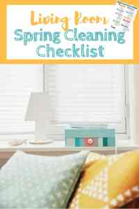 Living Room Spring Cleaning Checklist - Housewife How-To's