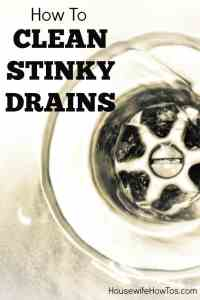 How to Clean Stinky Drains: 3 Non