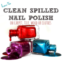 How To Clean Spilled Nail Polish on Carpet, Wood and More ...