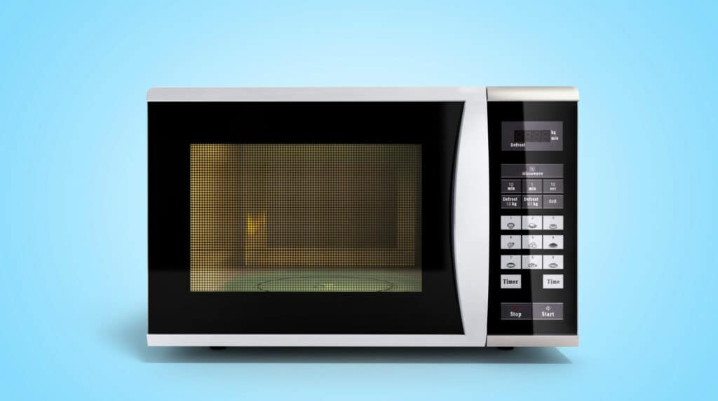 how to clean a microwave housewife