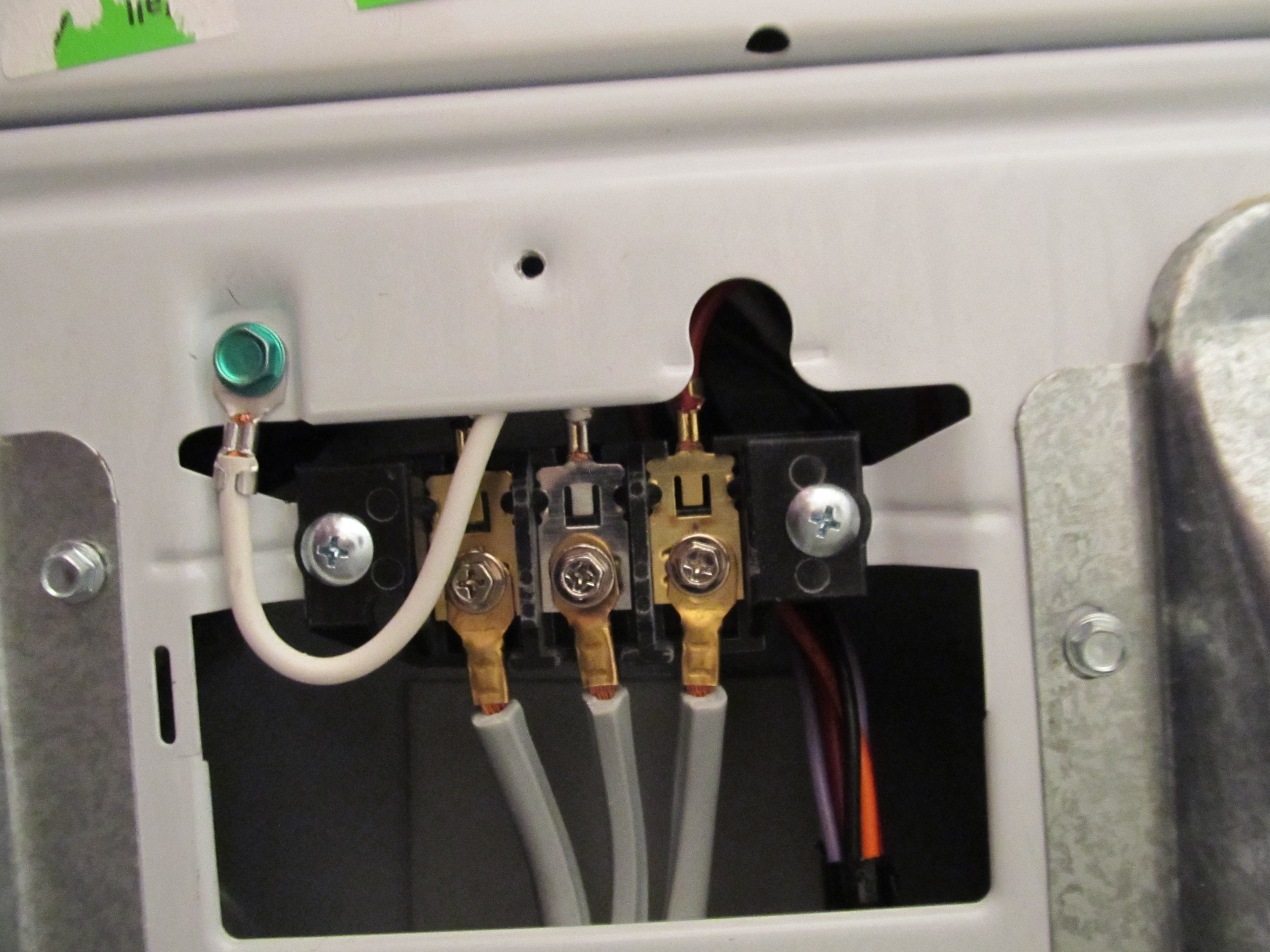 Dryer Wiring Diagram Wiring 4 Wire Cord To 3 Prong Dryer 4 Wire Dryer
