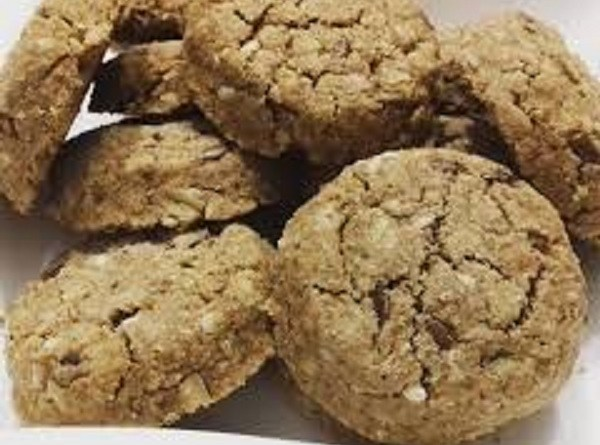 Peanut Butter Cookies with Flaxeed - Crunchy Keto Snack