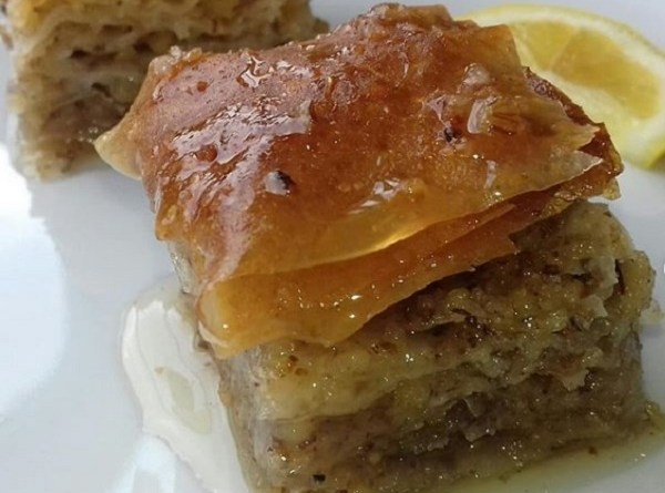 Baklava with Cashew Nut and Nutmeg - Gluten-Free Recipe