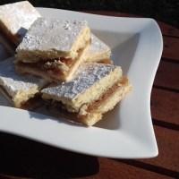 Caramel Shortbread Squares