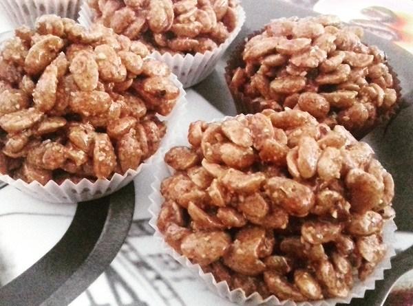 Reeses Cookies - No Bake Krispy Cookies Recipe