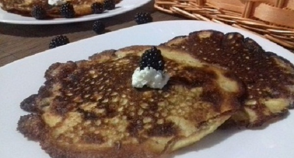 Low Carb Pancakes with Only 2 Ingredients! The Best Recipe Ever